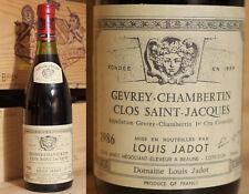 1986er Gevrey Chambertin - Clos St. Jacques - Domaine Louis Jadot  !!!!!!!