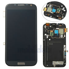 GRAY For Samsung Galaxy Note 2 N7105 T889 i317 LCD Digitizer Assembly+Frame US