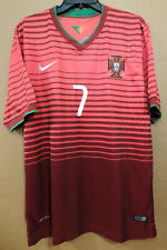 Nike 2014 Portugal FPF CRISTIANO RONALDO #7 World Cup Home Jersey Mens XL