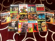 Famous Monsters of Filmland Magazine Vintage Issues Lot of 14 Kong Harryhausen