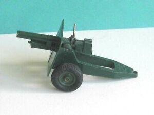 1 x BRITAINS TOYS # 9705. BRITISH 25 POUNDER HOWITZER FIELD GUN. (1965-70)