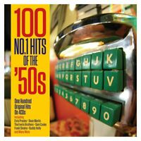100 NO.1 HITS OF THE 50S - ELVIS PRESLEY, DEAN MARTIN, SAM COOKE U.A.  4 CD NEW!
