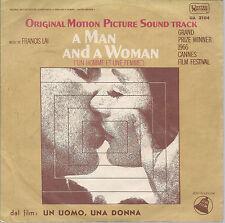 A MAN AND A WOMAN ( UN HOMME ET UNE FEMME ) - SAMBA SARAVAH = FRANCIS LAI