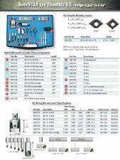 """Techniks PinzBOHR BohrSTAR 170 Rhombic Boring Kit CCMT .324"""" - 6.69"""" Range"""