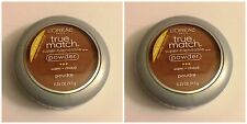LQQK 2x NEW Loreal True Match Super Blendable Face Powder Deep Golden Warm W10