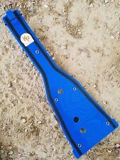 Kased Plates '06-'09 Suzuki LTR450 3MM BLUE Lifetime Warranty Frame Skid Plate