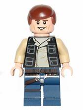 LEGO 75052 Star Wars - Han Solo - Dark Blue Legs, Vest w/ Pockets - Mini Figure