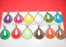 Wholesale of 12 pairs Handmade Thread earring Assorted colors Small Size 214