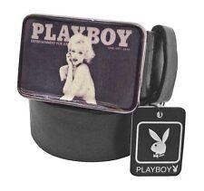 PLAYBOY - TAILLE L - Ceinture noire unisexe modèle femme sexy