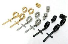 9Pairs Non-piercing Earrings Magnetic For Men Women Clip Huggie Dangle Set