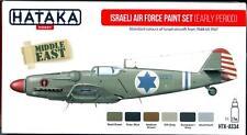 Hataka Hobby Paints ISRAELI AIR FORCE EARLY PERIOD Acrylic Paint Set