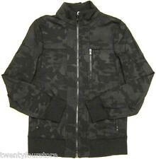 Lululemon Post Gravity Track Jacket Lay Low Camo Black Camouflage sz S
