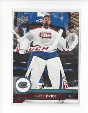 2017-18 Upper Deck #102 Carey Price Canadiens