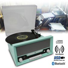 Fenton RP135 3 Speed Retro Vinyl LP Record Player Turntable 33 1/3 45 78 RPM