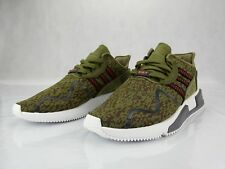 official photos 3f4c2 f9e7f Adidas EQT Cushion Adv Olive Camo Brown AC7722 Mens Shoe s Size 8.5 New  Sneakers