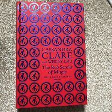 The Red Scrolls Of Magic by Cassandra Clare Waterstones UK Special Edition
