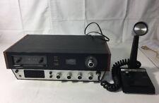 Lafayette Telsat 925 Channel CB Radio Base  Works Great. Turner Mic. 1974
