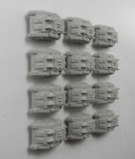 12 Epic 40K RHINO TANKS Plastic Imperial Space Marines Army Rhinos 1990s J2d