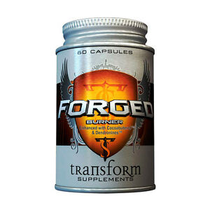 Forged Burner by Transform Supplements, Extreme Fat Burner, Thermogenic, 60 Caps