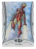 2014 Marvel Premier Iron Man Sketch Card Natasa Tansa Kourtis UD Upper Deck 1/1