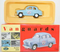 VANGUARDS 1/43 VA23005 AUSTIN A35 G.HILLS RALLY CAR #2