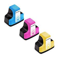 3pk Color 02 Set Printer Ink Cartridge for HP Photosmart C7180 D7160 C7250