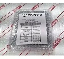 Navigation Map / Toyota 2016-17 Update / DVD Gen 6 16.1 U98 86271-GEN06-16 - New