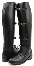 Hispar Men's Man Stallion English Field Horse Motorcycle Riding Boots Equestrian
