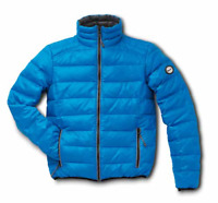 Vespa Windproof Goose Feather Padded Jacket Blue XXL New 605490M06A