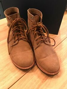Oak Street Bootmakers Natural Roughout Dainite Trench Boot - 8.5 MADE IN USA