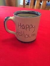 Vintage Rare Happy Halloween Louisville Stoneware Ceramic Coffee Mug