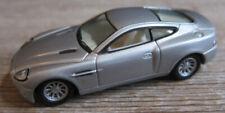 1:64 Johnny Lightning '02 Aston Martin Vanquish Preproduction WHITE LIGHTNING