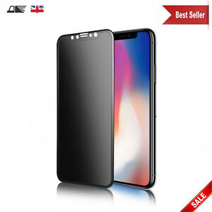 Anti Spy Matte Privacy Tempered Glass Screen Protector For Apple iPhone Xs Max