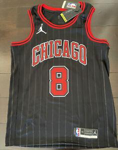 Zach LaVine Chicago Bulls Swingman Nike NBA Jordan Statement Jersey Size Medium