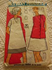 rare patron ancien FUTUR MAMAN tunique jupe  taille 42 enceinte femme