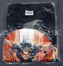 Graphitti Design Screen Printed WOLVERINE Black Tshirt Adult S Hanes 100% Cotton