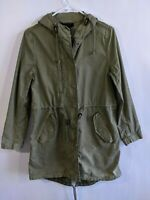 Madewell Women's Small Weather Outbound Military Jacket Green
