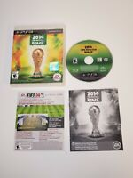 2014 FIFA World Cup Brazil (Sony PlayStation 3,2014) Complete Tested Working PS3