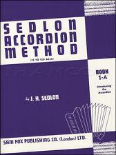 Sedlon FISARMONICA METODO 1-a lezioni di musica LIBRO IMPARARE A SUONARE
