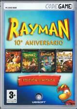 Rayman 10ª Aniversario. Edición Limitada - Ubisoft. Juego para PC