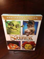 Shrek 4 Movie Collection (Blu-ray Boxset, 4-Disc Set) New-Free S&H with Tracking