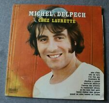 Michel Delpech, chez Laurette - best of, LP - 33 tours