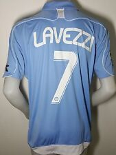 SOCCER JERSEY NAPOLI LAVEZZI MATCH ITALY MAILLOT RARE FOOTBALL COMPETITION