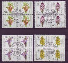 Briefmarken aus der BRD (1980-1989) mit Blumen-Motiv