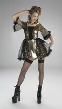 Disguise Teens 'Antoinette' Halloween Costume, Gold/Black, Up to size 9