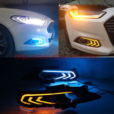FOR Ford Fusion 2013-2016 LED DRL DayTime Running FOG Driving Light REPLACEMENT