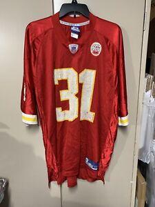 Kansas City Chiefs Jersey Reebok Holmes #31 Red Shirt Size XL NFL Football