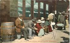 C-1910 Puget Sound Indians Seattle Washington Mitchell postcard 8409