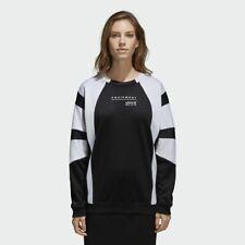 Adidas Originals Eqt Sudadera Mujer Blanco y Negro Ropa Deportiva Cuello Redondo