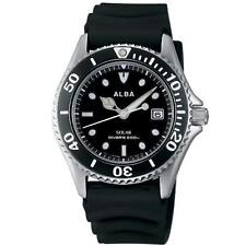 SEIKO ALBA Watch Solar Watch Men's Divers Watch AEFD530